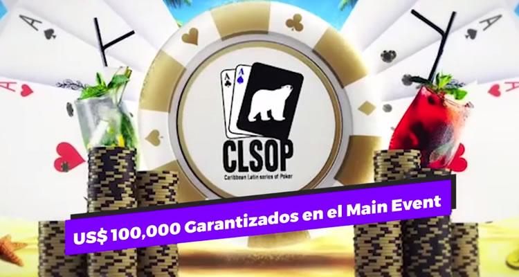 ¡Son US$100.000 garantizados que el Main Event del CLSOP trae para ti!