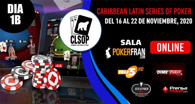 ¡Hoy es el Día 1B del Main Event de CLSOP Online!