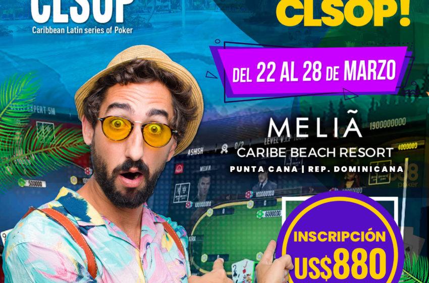 ¡TÚ PUEDES SER EL GANADOR DE US$100.000 GARANTIZADOS EN MAIN EVENT DE CLSOP!