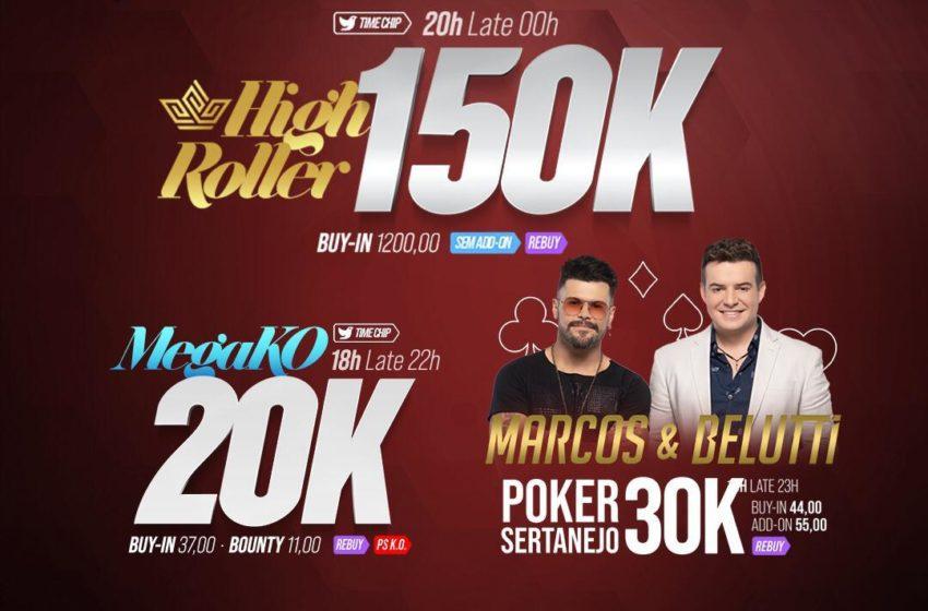 El dia de hoy UPoker y el Club H2 Brasil te traen un gran premio en Quinta do Poker con Marcos & Belutti