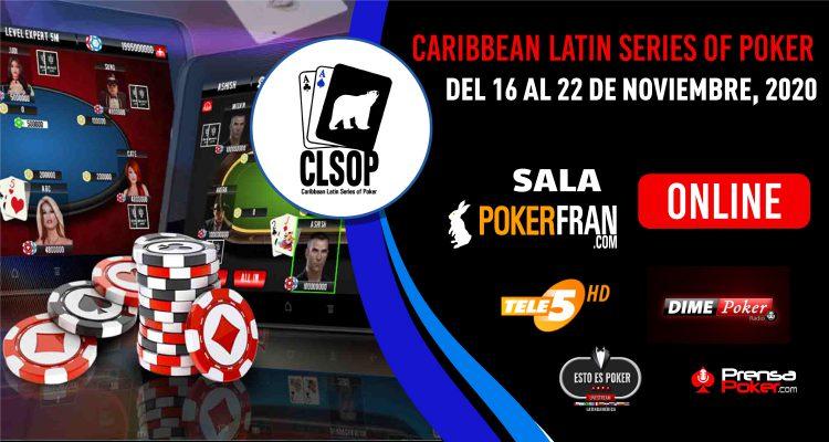 ¡Caribbean Latin Series Of Poker tendrá su versión Online en Noviembre!
