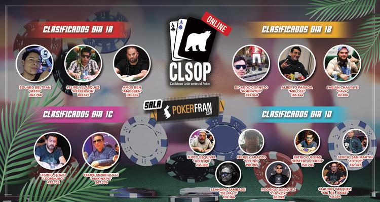 Hoy Mesa Televisada día 2 ME CLSOP Online + Eventos High Roller y CLSOP Day