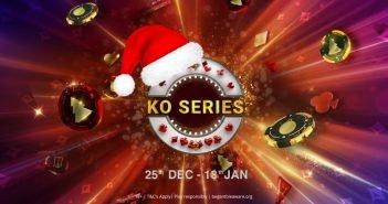 La mejor Navidad: regresa el KO Series a partypoker